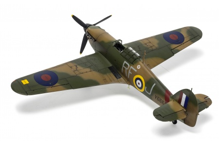 Airfix A05127A Hawker Hurricane Mk.1 Rear Left