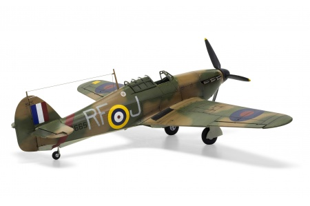 Airfix A05127A Hawker Hurricane Mk.1 Rear Right