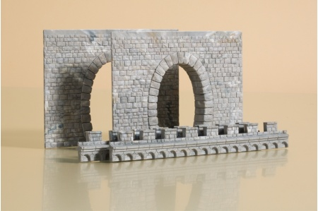 Auhagen 41586 HO/OO Gauge 2 Single Track Tunnel Portals pic2