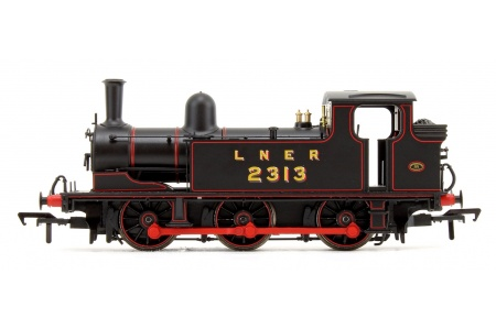 Bachmann 31-060 LNER J72 Class LNER Lined Black 0-6-0 Tank Locomotive No. 2313 Left Side