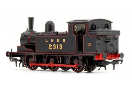 Bachmann 31-060 LNER J72 Class LNER Lined Black 0-6-0 Tank Locomotive No. 2313 Rear Left