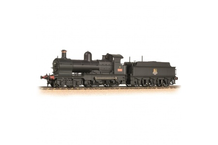 Bachmann 31-086A GWR 32XX Earl 9018 BR Black (Early Emblem)