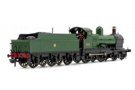 Bachmann 31-090DS GWR 32XX Earl 3206 Earl of Plymouth GWR Green Back Right
