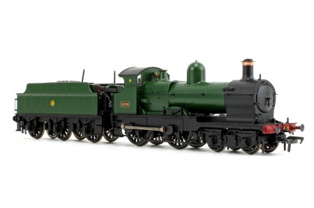 Bachmann 31-090DS GWR 32XX Earl 3206 Earl of Plymouth GWR Green Front Right