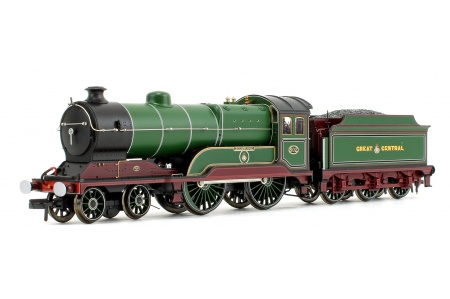 Bachmann 31-147DS GCR 11F 502 Zeebrugge GCR Lined Green Front Left