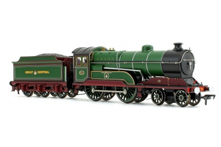 Bachmann 31-147DS GCR 11F 502 Zeebrugge GCR Lined Green Front Right