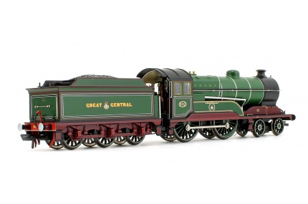 Bachmann 31-147DS GCR 11F 502 Zeebrugge GCR Lined Green Rear Right