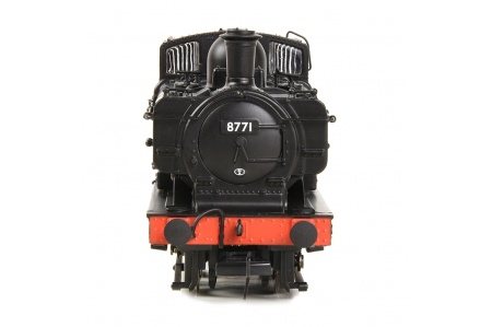 Bachmann 32-205A GWR 8750 Pannier Tank 8771 BR Lined Black (Early Emblem) (No.8771) Front
