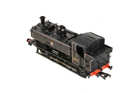 Bachmann 32-205A GWR 8750 Pannier Tank 8771 BR Lined Black (Early Emblem) (No.8771) Top
