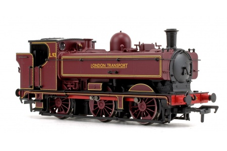 Bachmann 32-217A GWR Class 57xx 0-6-0 Pannier Tank L92 London Transport Lined Right Side