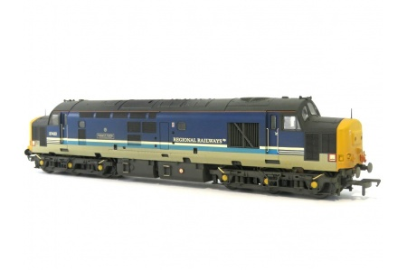 Bachmann 32-376A Class 37 422 Robert F Fairlie Regional Railways Diesel Locomotive Front Right
