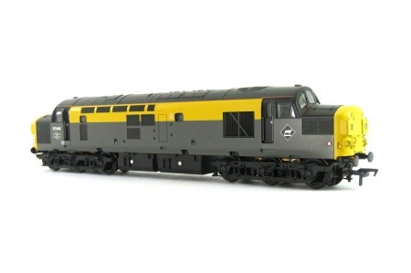 Bachmann 32-792 Class 37/0 37046 BR Grey And Yellow Dutch Split Headcode Diesel Locomotive Front Right