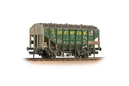 Bachmann 33-132 35 Ton PAA Ex-Bulk Grain Wagon Grainflow - Weathered