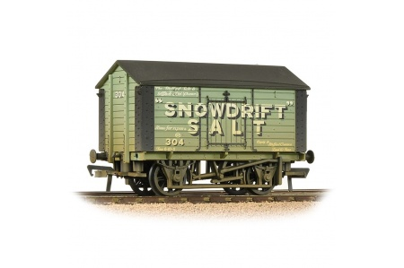 Bachmann 33-182 10T Covered Salt Wagon Snowdrift Salt Green