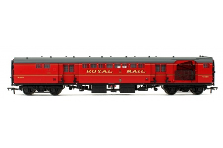Bachmann 39-421B BR Mk1 POS Post Office Sorting Van Post Office Red With Nets