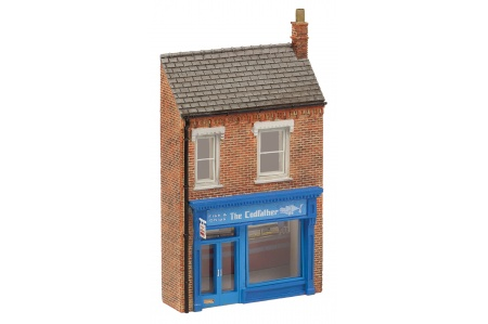 Bachmann 42-266 Low Relief 'The Cod Father' Fish & Chip Shop
