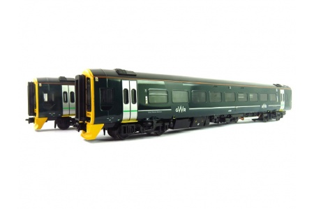 Bachmann 31-519 Class 158 2-Car DMU 158766 GWR Green (FirstGroup) Front Left