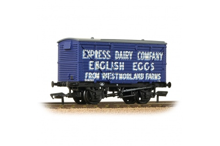 Bachmann 37-807 LMS 12T Planked Ventilated Van express dairy