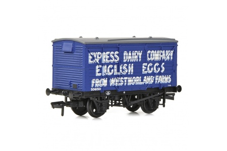 Bachmann 37-807 LMS 12T Planked Ventilated Van