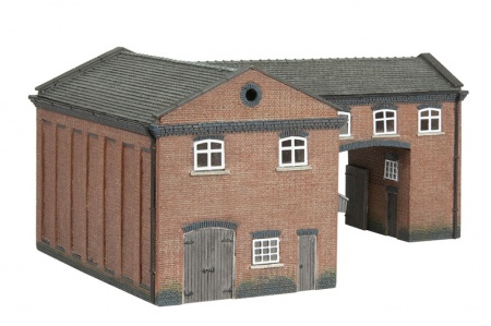 Bachmann Scenecraft 42-0086 Industrial Gate House view 2