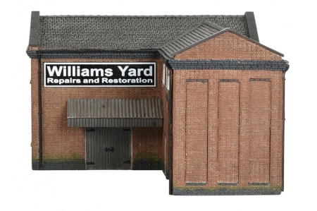 Bachmann Scenecraft 42-0086 Industrial Gate House view 3