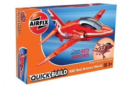 Airfix J6018 Quick Build RAF Red Arrows Hawk