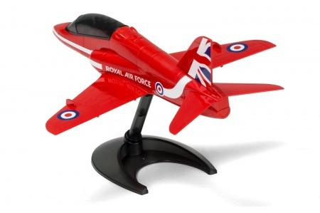 Airfix J6018 Quick Build RAF Red Arrows Hawk assembled