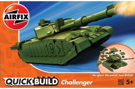 airfix j6022 quick build challenger tank