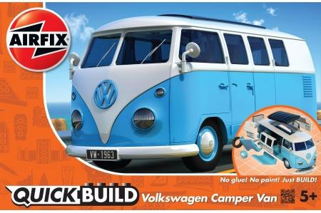 Airfix J6024 Quick Build VW Blue Camper Van