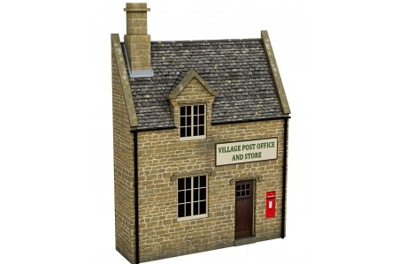 Bachmann Scenecraft 44-296 Low Relief Honey Stone Post Office