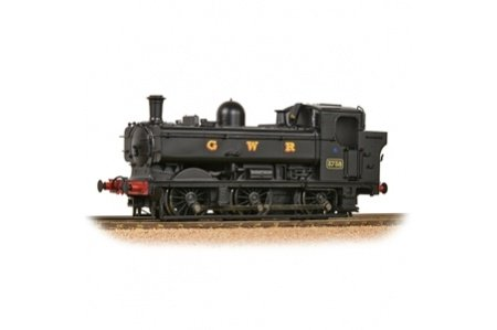 Bachmann 32-199 GWR 8750 Pannier Tank 3738 GWR Black Left Side