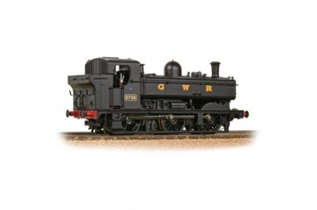 Bachmann 32-199 GWR 8750 Pannier Tank 3738 GWR Black Right Side