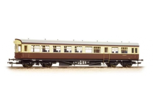 BACHMANN 39-580 BR AUTO TRAILER BR CHOCOLATE & CREAM - PRESERVED