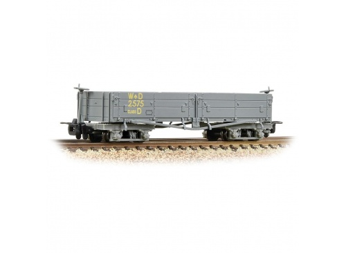 Bachmann Narrow Gauge 393-050 Open Bogie Wagon WW1 WD Grey Weathered