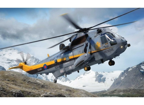Airfix A04063 Westland Sea King HAR.3./Mk.43 Helicopter 1:72 Scale Model Kit pic2