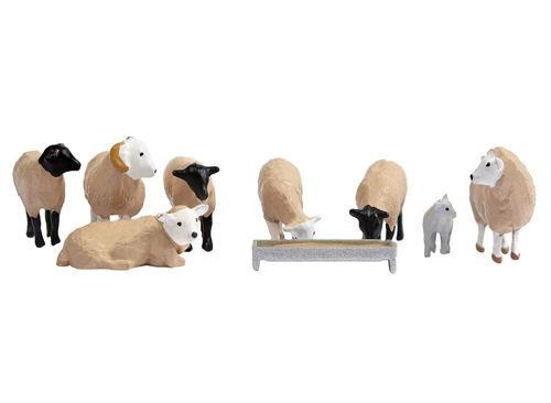 Bachmann Scenecraft 36-083 Sheep (Flock of 9)