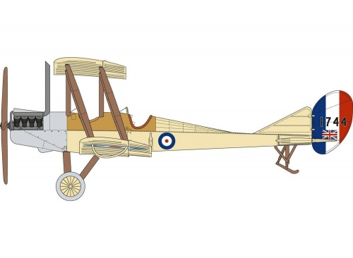 airfix a02104 royal aircraft factory be2c scout side elevation