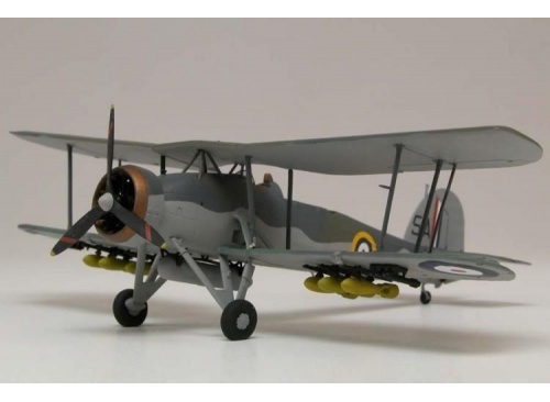 Airfix A04053 Fairey Swordfish MK1 1:72 Scale Model Aircraft Kit assembled