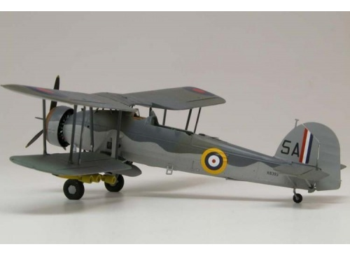 Airfix A04053 Fairey Swordfish MK1 1:72 Scale Model Aircraft Kit assembled 2