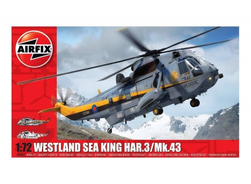 Airfix A04063 Westland Sea King HAR.3./Mk.43 Helicopter 1:72 Scale Model Kit