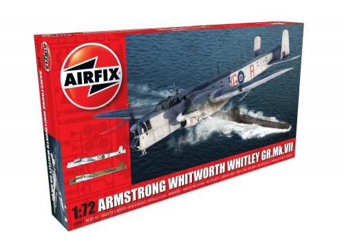 Airfix A09009 Armstrong Whitworth Whitley Mk.VII 1:72 Scale Model Aircraft Kit