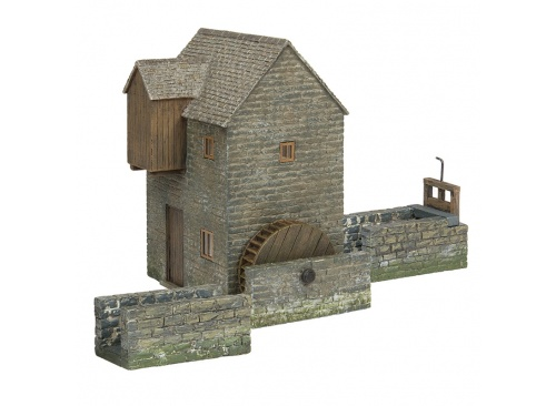 Bachmann Scenecraft 44-0131 Wigmore Watermill With Race And Gate