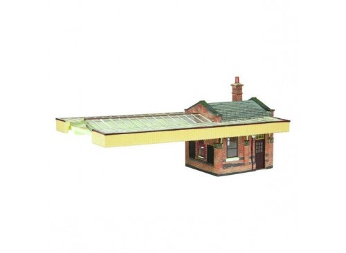 Bachmann Scenecraft 44-117B Great Central Station Booking Office and Canopy