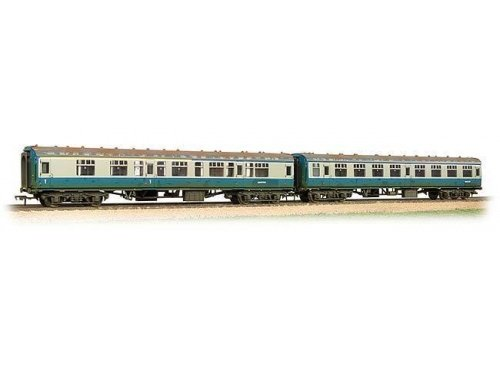 Bachmann 39-001 Mk1 Coach Pack 'Works Test Train' BR Blue/Grey Weathered