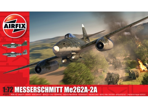 Airfix A03090 Messerschmitt ME262A-2A Package